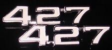 Chevy 427 emblems 69 70 71 72 73 74 Nova Camaro