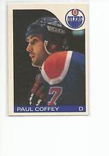PAUL COFFEY 1985-86 OPC O-Pee-Chee card #85 Edmonton Oilers EX+