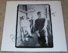 MISSION OF BURMA SIGNED AUTOGRAPH VS. VINYL ALBUM INSERT w/EXACT PROOF