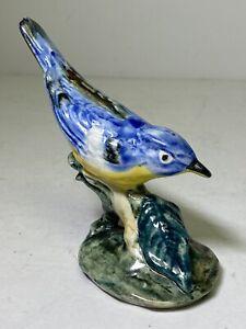 Vintage 1940s Stangl Pottery Bird Figurine Warbler #3583 D.C.F.