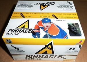Pinnacle 2011/12 Hockey Retail Box - One Autograph or Memorabilia Card Per Box!!
