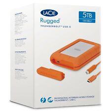 LaCie STFS 5000800 5TB 5400rpm Resistente Thunderbolt disco duro externo USB-C utilizado