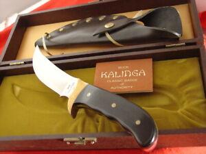 "Buck USA Made 10"" KALINGA Full Tang Fixed Blade Micarta Sheath Knife MINT/BOX"