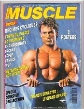 LE MONDE DU MUSCLE #103 bodybuilding magazine/FRANCIS BENFATTO 9-91 (Fr)