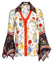 Alice + Olivia Randa Floral Print Blouse Size XS