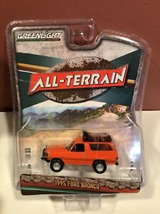 Greenlight All-Terrain series 11 1995 Ford Bronco  w/ Off-Road parts