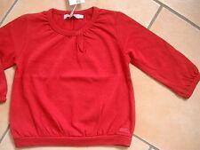 (X204) Süßes Imps & Elfs Baby Shirt mit Gummi Armbündchen & Logo Aufnäher gr.80