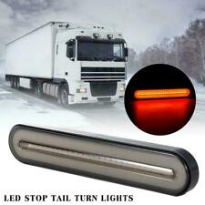 Car Truck LED Neon Halo Ring Tail Brake Light Flowing Turn Signal Lights 2835SMD