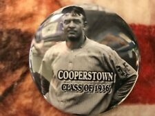 Christy Mathewson Button - Baseball Hall of Fame Induction - Cooperstown - Photo