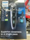 Philips Norelco Wet/Dry Shaver 9300 w/ Click-On Precision Trimmer S9311/84