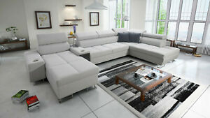 Brand new corner sofa bed with storage Morena V
