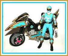 Power Rangers Ninja Storm _ Blue Wind Tsunami Cycle w/ Ranger