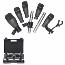 Samson DK707 7-Piece Drum Microphone Kit with Hardshell Carry Case
