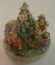 Sebastian figurine, America Remembers Family Picnic, 1979 Signed, P.W. Baston