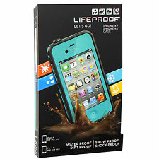 Lifeproof fre Waterproof Case for iPhone 4S & iPhone 4 w/ Authentic Serial NEW!