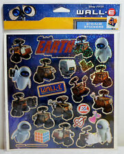 DISNEY PIXAR WALL E EVE MO STICKERS SHEET GREEK EXCLUSIVE SEALED BRAND NEW RARE