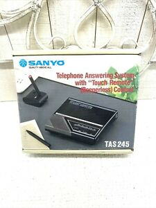 Vintage/Retro Sanyo Answering Machine TAS 245 New Old Stock New in Box