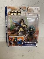 Star Wars The Clone Wars Jedi Knight Army Action Figure 3 Pack New Free Uk Post