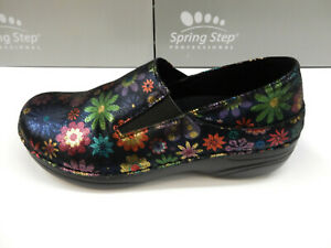 Spring Step Womens Manila Flower Black Multi 7