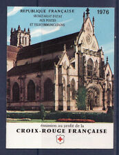 timbres France carnet croix rouge  1976 **