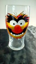Hand Painted Animal Muppet Character Pint Glass Gift UK