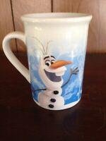 Disney FROZEN Elsa Anna Olaf Cocoa Coffee Cup Mug 2016 Frankford