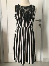 NWT Guess Dress Stripes Black and White Size M