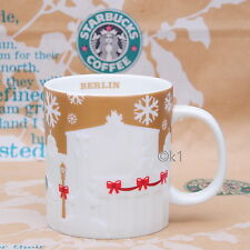Starbucks® Ltd Mug Berlin Relief Gold 2014 . Ltd. Tasse Becher Cup 18 oz 532 ml