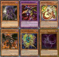Yugioh Five-Headed Dragon and Five (5) Dragons Set / Lot - 3 Holos Foils