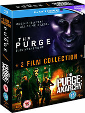 The Purge + The Purge: Anarchy (2xBlu-ray+UV Copy) ERSTAUFLAGE IM SCHUBER!