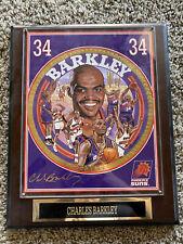 1992/93 NBA Superstar Collectors Plaque #34 Charles Barkley +Frank Nareau Print