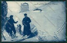 Aosta Piccolo San Bernardo Cane cartolina QQ5924