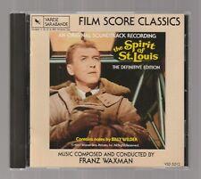 THE SPIRIT OF ST. LOUIS Original Motion Picture Soundtrack Franz Waxman CD