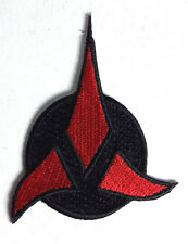"Star Trek Klingon Tri Foil Red 3"" Patch-Lincoln Enterprises-FREE S&H(STPAL-055)"