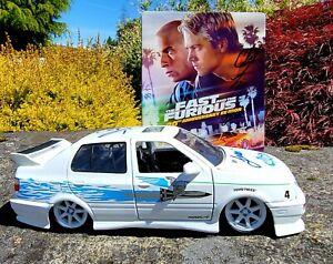 "20th Anniversary ""Fast & Furious"" BLU RAY/DVD & Diecast Jetta SIGNED!!"