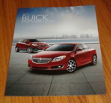 2016 Buick Sport Touring Edition Sales Brochure Regal Verano Lacrosse Encore ST