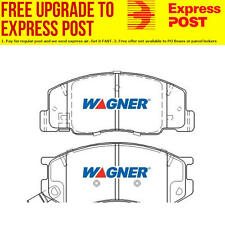 Wagner Brake Pad Set Front DB1372WB fits Toyota Town Ace SBV 1.8 i (KR42)