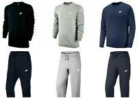 Nike Tracksuit Hoodie Mens Joggers Sweatpants Fleece Hoody Bottoms Sport New