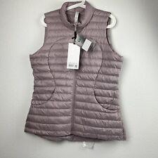 Lululemon Pack It Down Vest SBLH Smoky Blush size 12 New