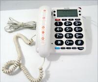 Purtek PT3802 Big-Button Emergency Landline Phone Seniors no Pendant Tested