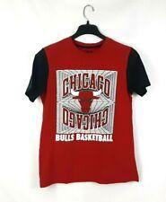 Chicago Bulls Basketball Youth Performance T-shirt NBA Red Black Size Medium