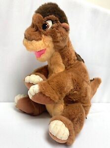 """1988 The Land Before Time Little Foot JC Penny GUND Tag Stuffed Animal Large 18"""""""