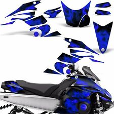Decal Graphic Kit Yamaha FX Nytro Parts Sled Snowmobile Wrap Decals 08-14 ICE U