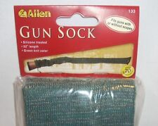 """Allen Knit Hunting Shooting Rifle Gun Cover Sock Green Camo Camouflage 52"""" New"""
