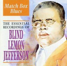Blind Lemon Jefferson(CD Album)Match Box Blues-Indigo-IGOCD2075-UK-1998-New