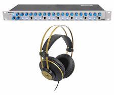 Presonus HP60 6-Channel Amplifier Headphone Amp + AKG Studio Headphones