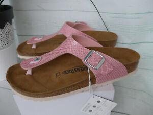 Birkenstock Zehentrener Sandale Pantolette Gizeh Damen Gr. 35 bis 43 (599) NEU
