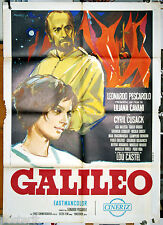 manifesto 2F originale GALILEO Liliana Cavani Cyril Cusack 1968 art Manfredo