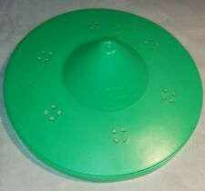 Vintage McDonalds Halloween Pail Witch LID ONLY Green