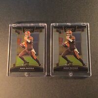 BAKER MAYFIELD 2018 PANINI SELECT #30 CHROME ROOKIE RC (2-CARD LOT) NFL